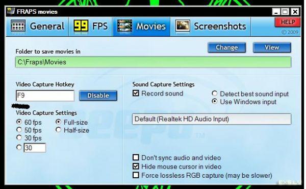 FRAPS 3.0.0 Ultima version CRACKED.
